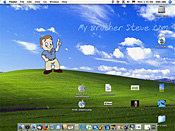 Steve's Mac desktop - we do Mac & PC here